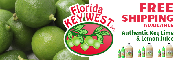 Authentic Key Lime & Lemon Juice